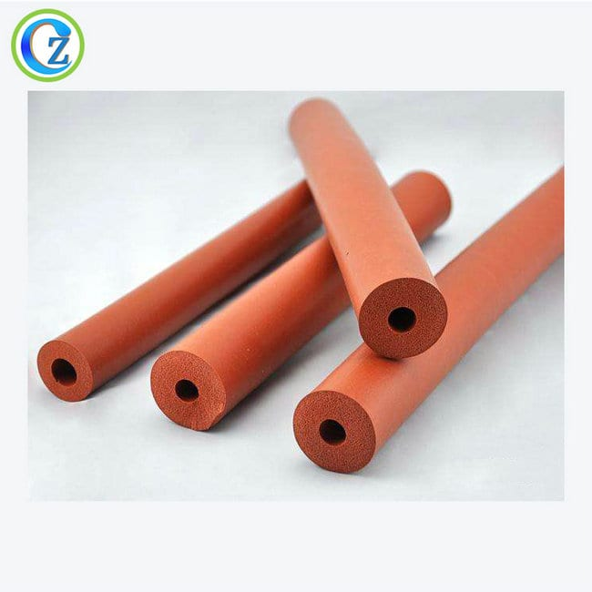 Hot-selling Rectangular Rubber Seals - Extruded Rubber Products Colored Rubber Tubing EPDM Rubber Extrusion Tubing – Zichen