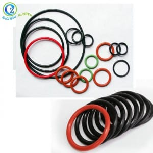 Chinese wholesale As568 Food Grade Clear Soft Rubber Seals Colored Soft Silicone O Ring