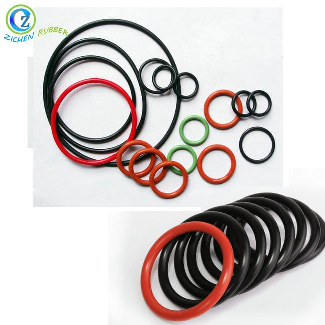PriceList for Rubber Ring Waterproof Seal - Custom Hot Sell Silicone Rubber Seal O Ring Natural Rubber O Rings – Zichen Featured Image