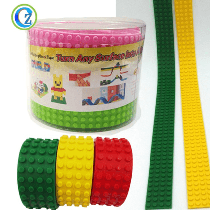 Original Factory Silicone Bakeware Molds - Factory Price Silicone Building Block Tape For Tape Compatible Blocks – Zichen Featured Image