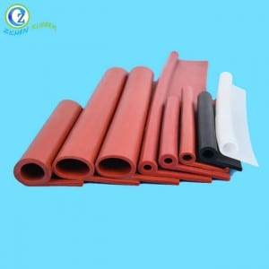 T Shape Silicone Rubber Seals Strips U Shape  Silicone Rubber Seals Strips Custom Door Rubber Seals