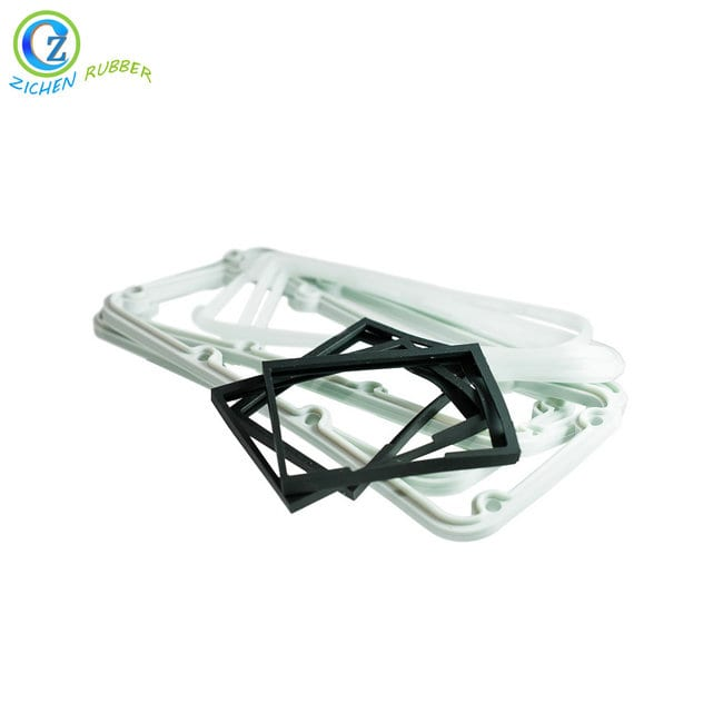 OEM manufacturer Collapsible Silicone Cup - Flat Round Rubber Gasket High Quality Flat Glass Rubber Gasket – Zichen