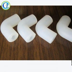Factory Outlets Door Frame Rubber Seal - High Temperature Resistant Silicone Tubing Soft Silicone Elbow Tube – Zichen