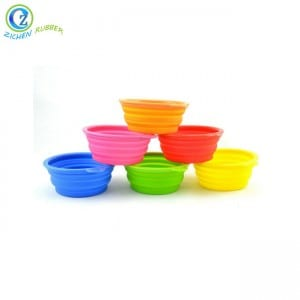 Manufacturer for Silicone Teether - Custom Silicone Pet Bowl Eco-friendly FDA Silicone Dog Bowl – Zichen