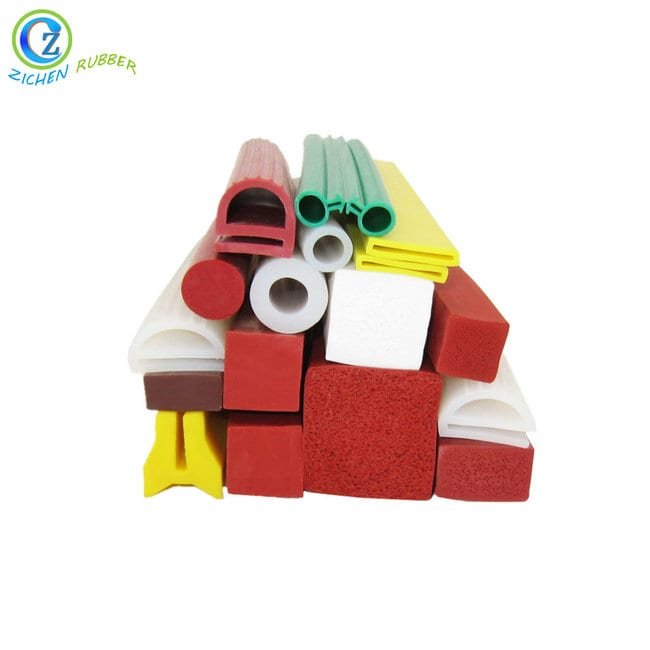 One of Hottest for Custom Make Rubber Gasket - Custom Square Silicone Rubber Foam Seal Strip – Zichen