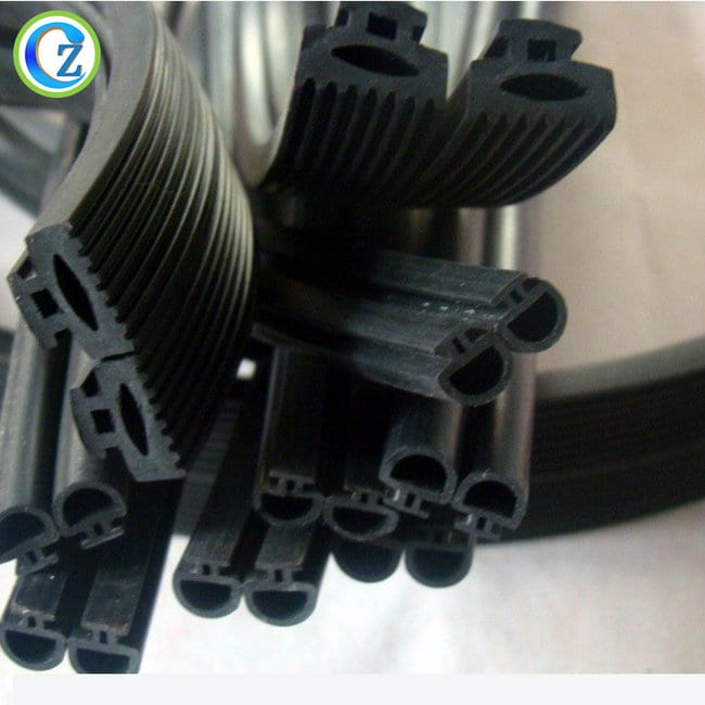 PriceList for Silicone Ring Rubber Seal - Customized Extruded Silicone Sponge Strip Rubber Sealing Door Strip – Zichen