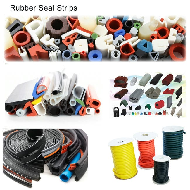 Hot New Products Red Nbr Hard Rubber O Ring - Waterproof Extrusion Silicone Sponge Rubber Door Seal Strip – Zichen