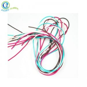 Customized 8MM Rubber Cord High Quality Silicone Sponge Extrusion Strip Cord