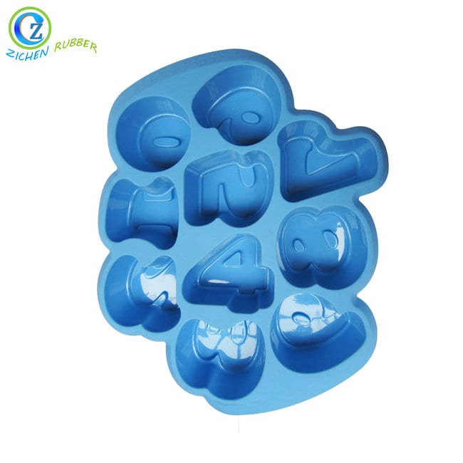 China Cheap price Silicone Cups - Custom Santa Claus Silicone Cake Mold Rubber Bakeware Reusable Baking Cups – Zichen