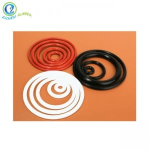 High reputation Nitrile Elastic Rubber Cord - Food Grade O Ring Seal Kit Gasket Custom Silicone Rubber O Ring – Zichen