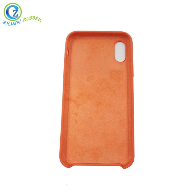 High definition Nbr Rubber Cord - Custom Colored Silicone Rubber Mobile Phone Case High Quality Shockproof Mobile Phone Case – Zichen