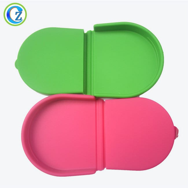 China Supplier Silicone Rubber Gasket For Bottle - Waterproof Silicone Coin Purse High Quality Silicone Rubber Change Purse – Zichen