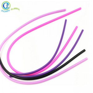 Customized Extrusions Silicon Rubber Cord High Quality Solid Silicone Cord
