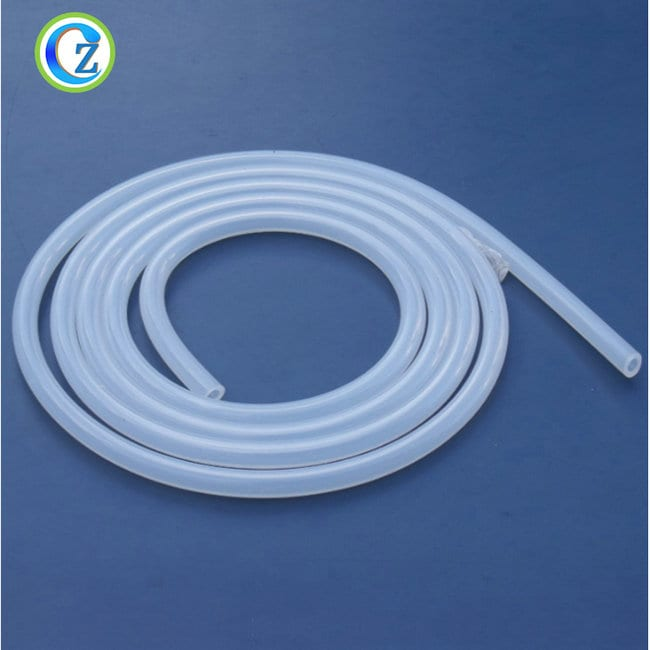 Personlized Products Extrusion Rubber Products - Flexible Soft Clear Silicone Tubing FDA Silicone Hose Hookah – Zichen