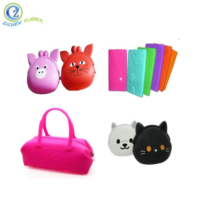 Wholesale Rubber Seal O Ring Assortment - Custom Popular Silicone Key Chain Bag New Style Silicone Key Bag – Zichen