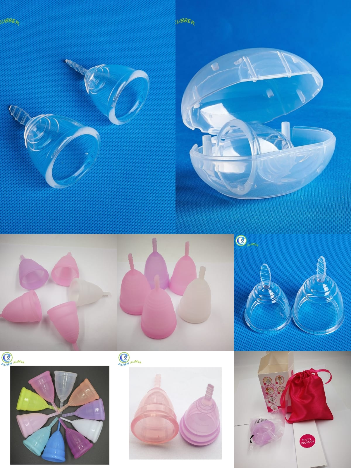 Silicone parts for health care products 1