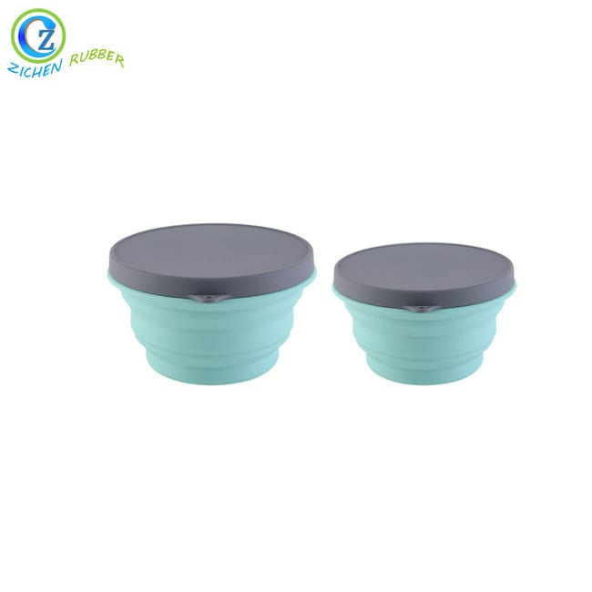 Factory Supply Foldable Silicone Cup - Custom Collapsible Silicone Dog Bowl High Quality Silicone Dog Bowl – Zichen