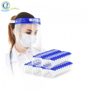 Transparent Prevent Droplets Anti-fog Eye Protection Clear Face Shield Glasses for Virus