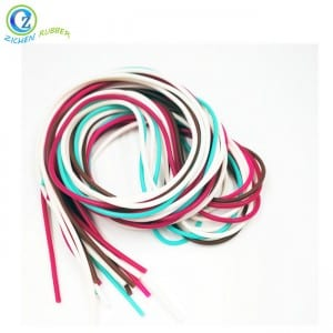 Various Colored Silicone Rubber Strip Cord for Jewelry