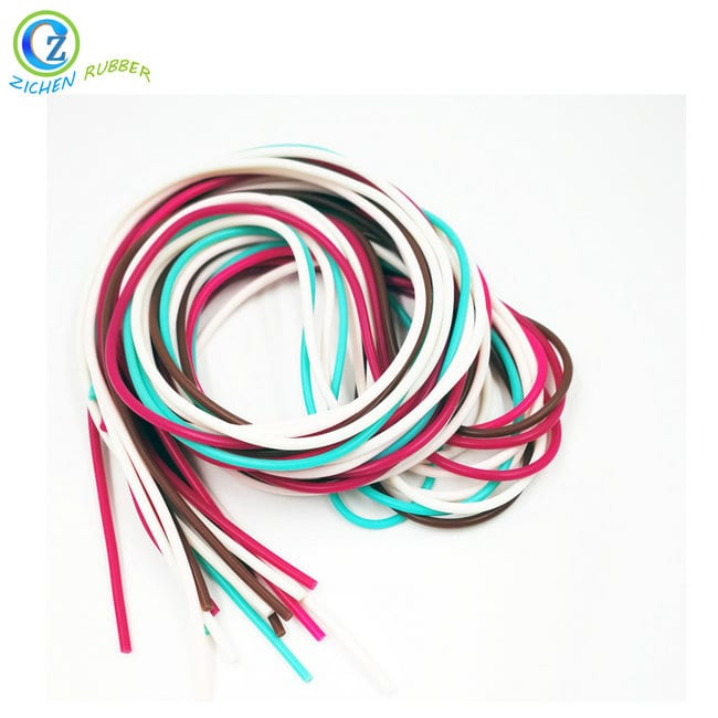 Excellent quality Nbr Conductive Rubber O Ring - Custom Dense Silicone Strip Elastic Rubber Sealing Cord – Zichen