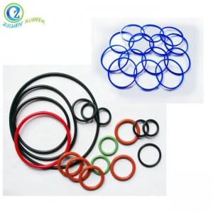 Fast delivery Rubber Strip Cord - Flexible EPDM NBR Silicone Rubber O Ring Mechanical Rubber Seal Ring – Zichen