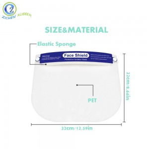 Customized Logo Face Shield with Protective Face Shield for Security Mask with Ce FDA Certificate Shield