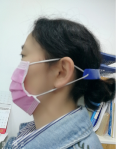 Reusable FDA Silicone Face Mask Ear Accessories Hook to Relieve Ear Fatigue