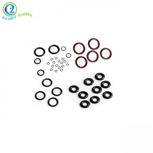 Custom Silicone Rubber O Ring with Multi-sizes
