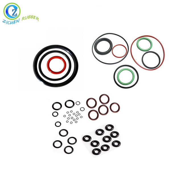 2019 Good Quality Silicone O-Ring Rubber - NBR EPDM SILICONE FKM SBR NR Different Colors Custom Waterproof Rubber O Ring – Zichen