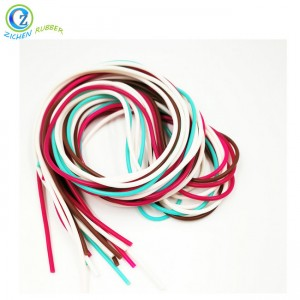 Food Grade Heat Resistant Transparent Custom Silicone Rubber Cord