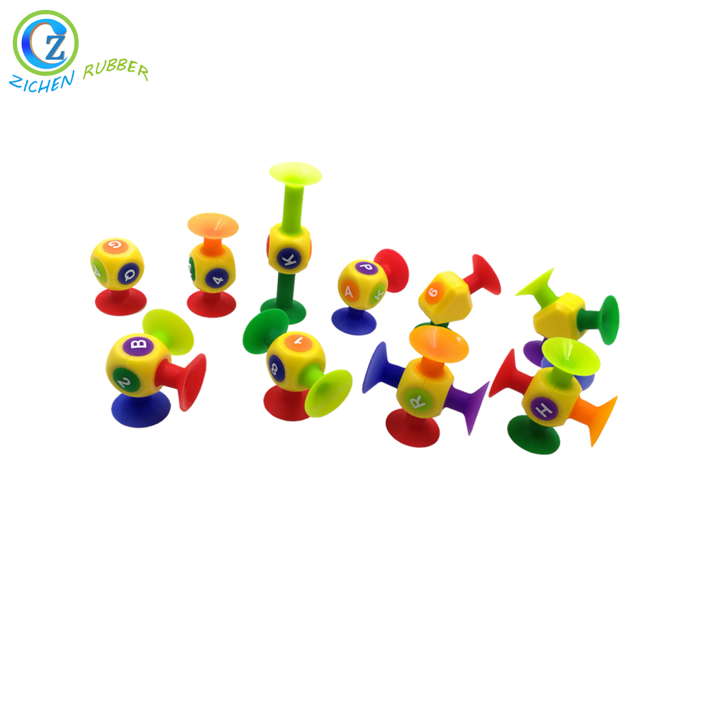 Cool FDA Creative Educational Silicone Rubber Sucker Toy Featured Image