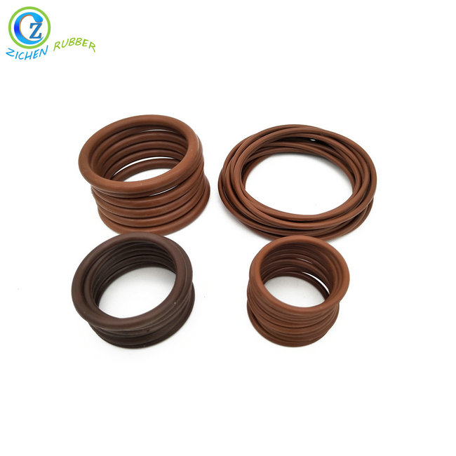 China OEM High Temperature Resistant Rubber Sealing Gasket - Oil Resistant Peroxide Cured Custom Silicone Rubber O Ring  – Zichen