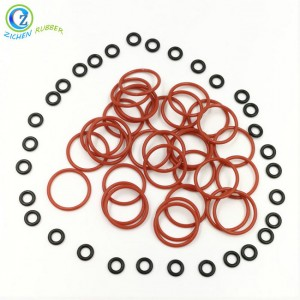 Oil Resistant Peroxide Cured Custom Silicone Rubber O Ring